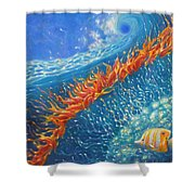 Caribbean Ballet Shower Curtain