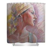 Caribbean Beauty Shower Curtain