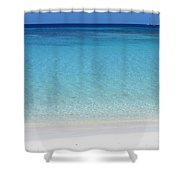 Caribbean Blues Shower Curtain