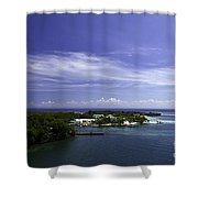 Caribbean Breeze Five Shower Curtain