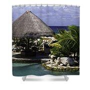 Caribbean Breeze Four Shower Curtain