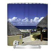 Caribbean Breeze One Shower Curtain