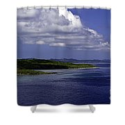 Caribbean Breeze Seven Shower Curtain