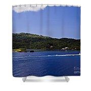 Caribbean Breeze Six Shower Curtain