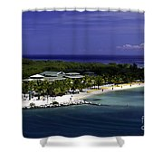 Caribbean Breeze Ten Shower Curtain
