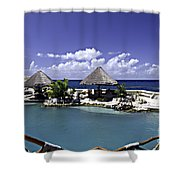 Caribbean Breeze Three Shower Curtain