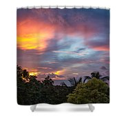 Caribbean Colors Shower Curtain