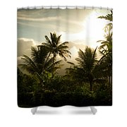 Caribbean Daybreak Shower Curtain
