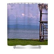 Caribbean Lifeguard Shower Curtain