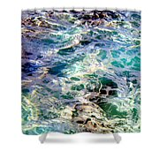 Caribbean Waters Shower Curtain