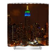 Caribbean Week Shower Curtain