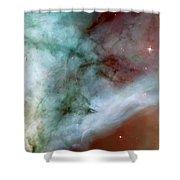 Carina Nebula #4 Shower Curtain