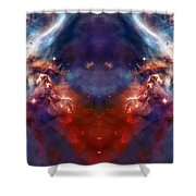 Carina Nebula Pillar 2 Shower Curtain