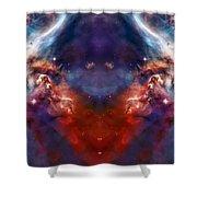 Carina Nebula Pillar 2 Shower Curtain