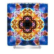 Carina Nebula V Shower Curtain