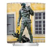 Carl Linneaus - Uppsala University - Uppsala Sweden Shower Curtain