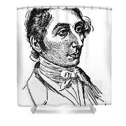 Carl Maria Von Weber (1786-1826) Shower Curtain