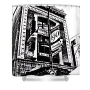 Carlos And Pepe's Montreal Mexican Bar Bw Shower Curtain