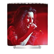 Carly And The Concert Lighting Shower Curtain