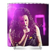 Carly On Stage Shower Curtain