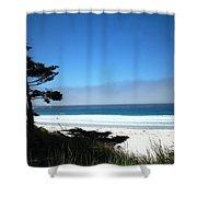 Carmel Beach California Usa Shower Curtain