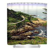 Carmel Highlands Shower Curtain