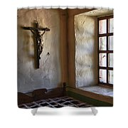 Carmel Mission 4 Shower Curtain