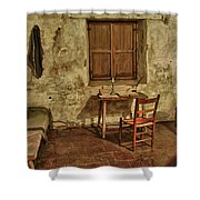 Carmel Mission California 1 Shower Curtain
