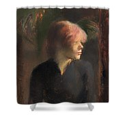 Carmen Guadin Shower Curtain