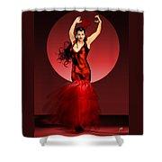 Carmen Amaya Shower Curtain