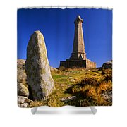 Carn Brea Memorial Shower Curtain