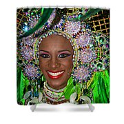 Carnaval Beauty Shower Curtain