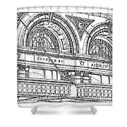 Carnegie Hall Shower Curtain