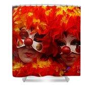 Carnevale Di Venezia 100 Shower Curtain
