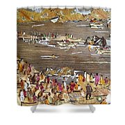 Carnival At River Shower Curtain