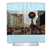 Carnival Celebration Social Occasion Crowds Shower Curtain