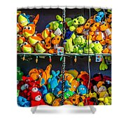 Carnival Critters Shower Curtain
