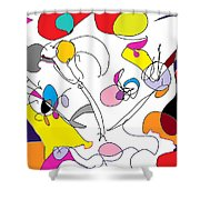 Carnival Shower Curtain