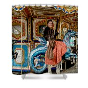Carnival Day In Color Shower Curtain