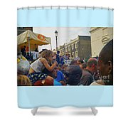 Carnival Day Out Family Social Occasion Shower Curtain