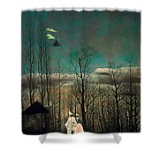 Carnival Evening Shower Curtain