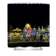 Carnival Life At Night 01 Shower Curtain