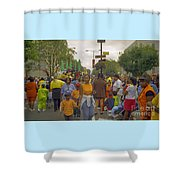 Carnival Outdoor Celebrations Social Occasion  Shower Curtain