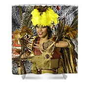 Samba Beauty 2 Shower Curtain