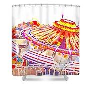 Carnival Sombrero Shower Curtain