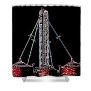 Carnival Towers Shower Curtain