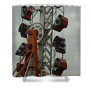 Carnival Zipper Shower Curtain