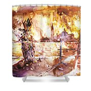 Carnivale- Italy Shower Curtain