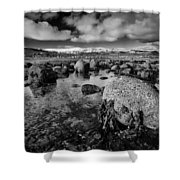 Carnlough Bay Shower Curtain