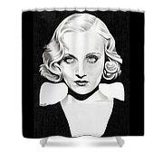 Carole Lombard Shower Curtain
